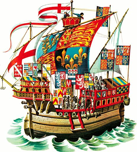 Banners Into Battle: King Edward IV Sails Against France.