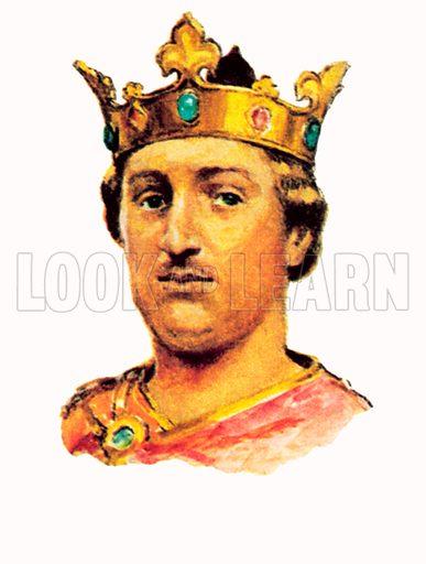 King Henry II(1154–1189).