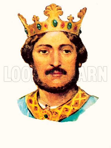 King Richard I (1189-1199).