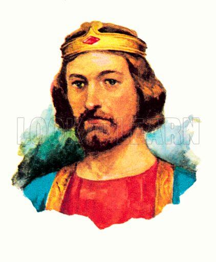 King Edward I (1272-1307).
