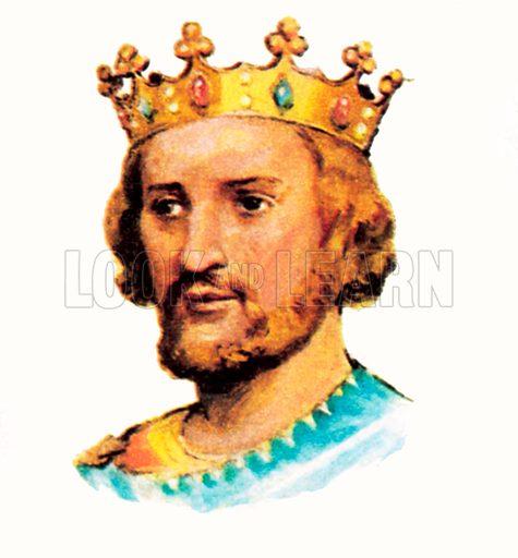 King Henry III(1216–1272).