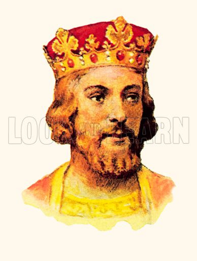 King Edward II (1307-1327).