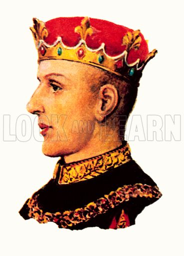 King Henry V (1413- 1422).