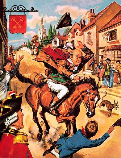 John Gilpin's Famous Ride.