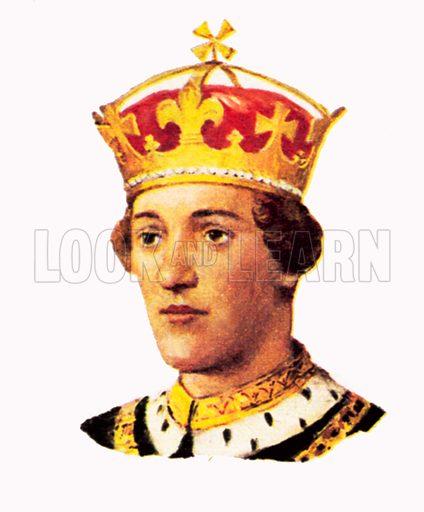 King Henry VI(1422–1461).