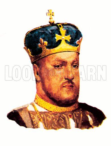 King Henry VIII(1509–1547).