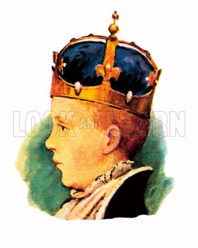 King Edward VI(1547–1553).