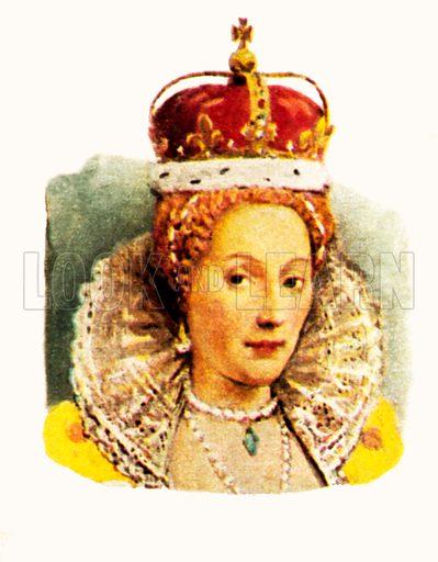 Queen Elizabeth I(1558–1603).