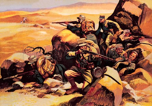 """Beau Geste. """"You can hear the crack of rifle and feel the heat of the burning desert in all Wren's stirring stories about the Foreign Legion.""""."""