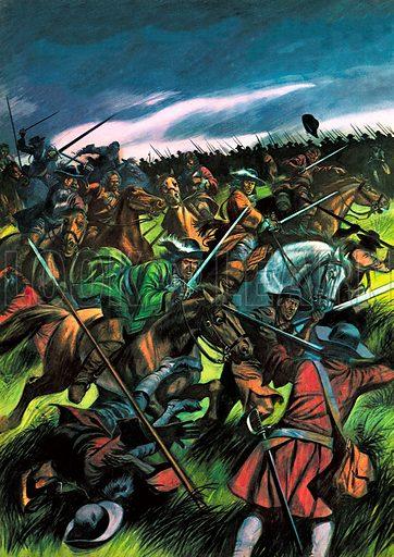 The Battle of Sedgemoor.