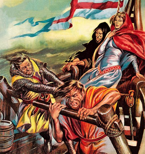 The Queen Who Went on a Crusade. Richard the Lionheart loved the beautiful Princess Berengaria at first sight. He courted her in Spain, married her in Cyprus, left her in France – and never once brought her back to England.