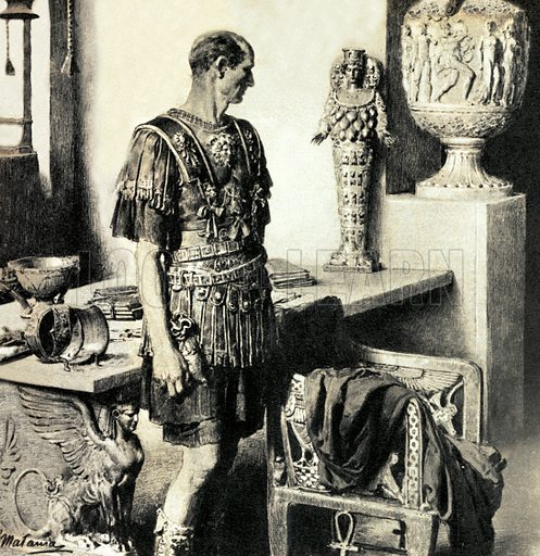 What Really Happened? The Day That Caesar Died – as Caesar crossed the hall of his house on his way to the Senate, his statue crashed to the ground. But Caesar was never one to heed superstitious omens….