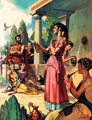 The Great Greek Story-tellers: Sappho – Supreme Woman Poet.