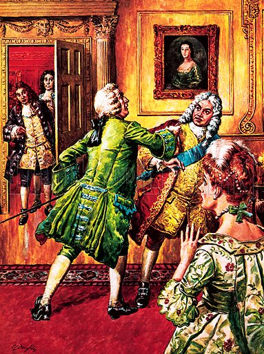 Britain's Prime Ministers: Walpole the Poweful. Robert Walpole fought with many during his days in office. Disagreements with Viscount Charles Townshend over foreign trade led to a scuffle and drawn swords in 1729.