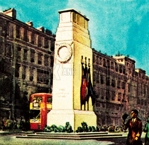 Cenotaph. NB: Scan of small illustration.