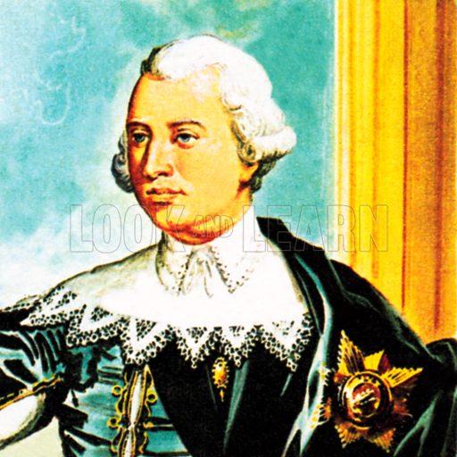 King George IIINB.: Scan of small illustration.