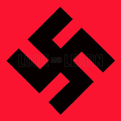 Swastika. NB: Scan of small illustration.