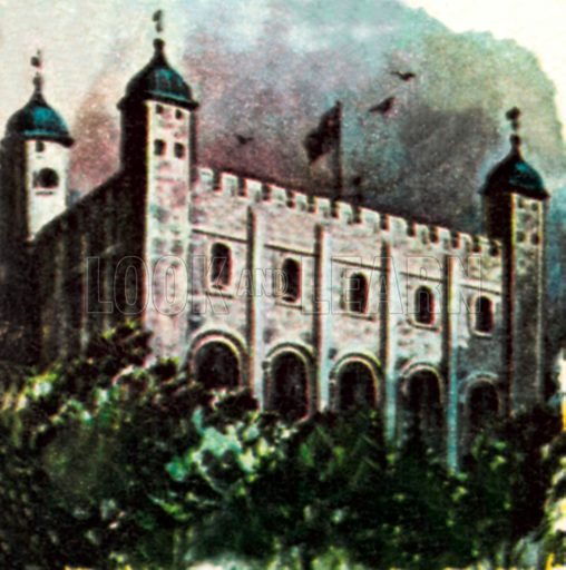 White Town (Tower of London). NB: Scan of small illustration.
