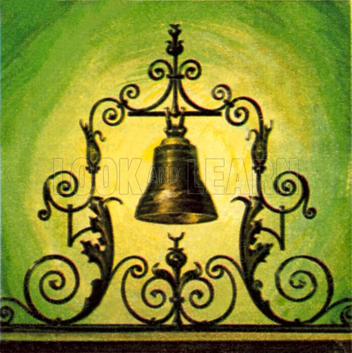 The Lutine Bell. NB: Scan of small illustration.