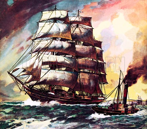 Famous Ships: The Cutty Sark.
