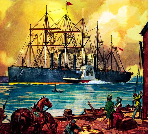 Famous Ships: The Great Eastern.