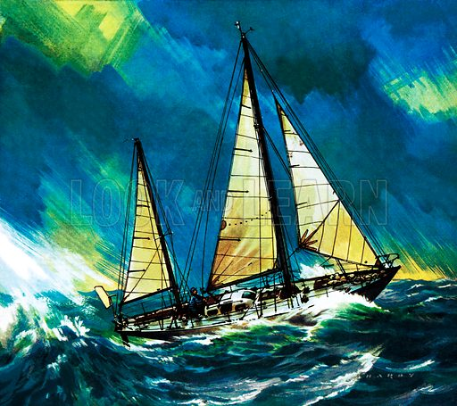 Famous Ships: Lone Voyager – the Gypsy Moth. Sailed by Francis Chichester around the world in 1966–67.