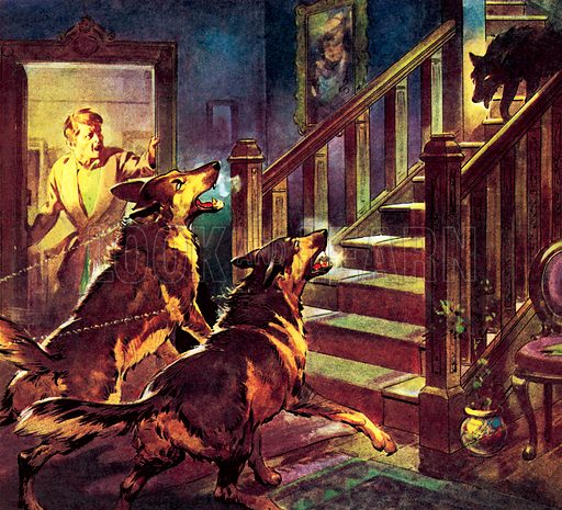 Famous Dogs: The Ghost of the Black Dog.