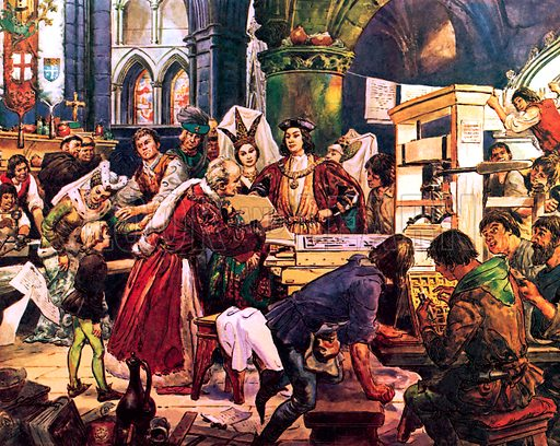 Great Events in History: William Caxton – England's First Printer.
