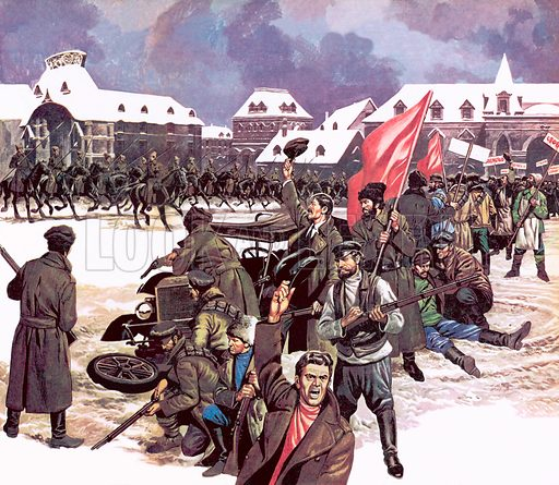 Great Events in History: The Russian Revolution.