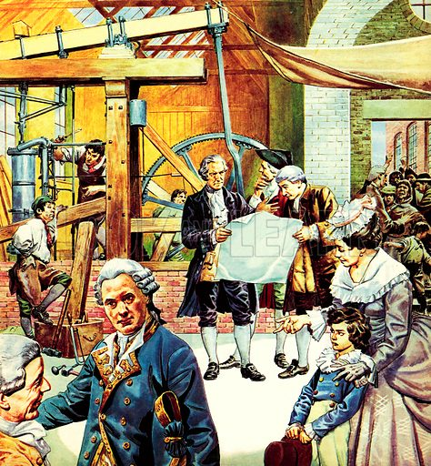 Great Events in History: James Watt's Steam Engine.
