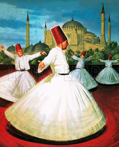 Dancing Round the World: Twirls and Trances.