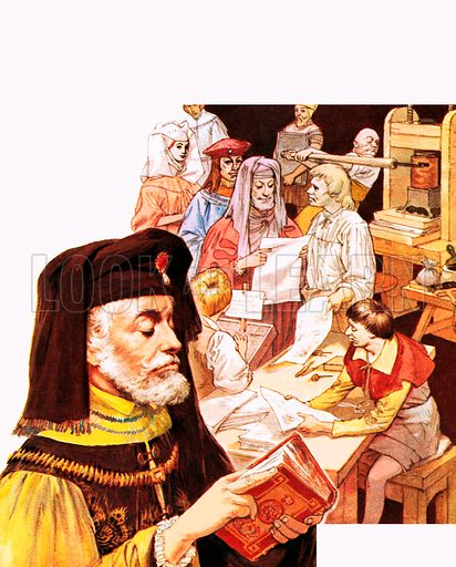 Pioneer of the Printed Word: William Caxton.