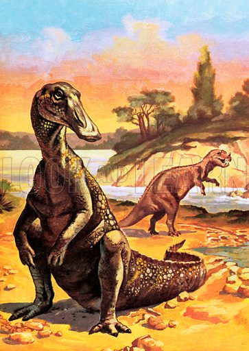 Anatosaurus, picture, image, illustration