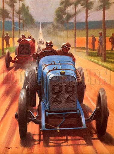 Men and Motors: Race Track Pioneers.