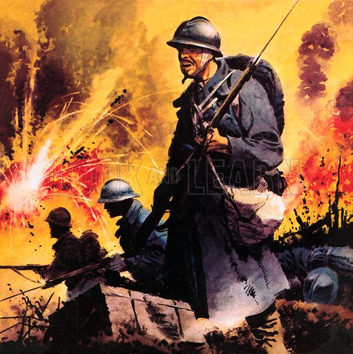 The Story of World War One: No Retreat -- The Battle Call at Verdun.