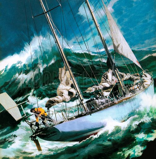 Sailing Round the World – The Wrong Way.