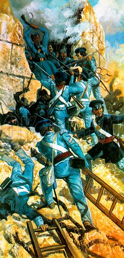 The Unfinished Revolution: The Scourge of Mexico. Mexico City falls to the Americans in 1847.