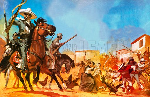 The Unfinished Revolution: Downfall of a Dictator. The rurales were officially mounted police, but their ranks were full of bandits and they robbed and killed with impunity, the wretched Indians being the chief sufferers.
