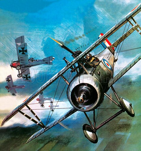 They Conquered the Air: Early military aircraft.