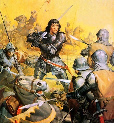 King Richard III in battle: Was Richard Really Evil?.