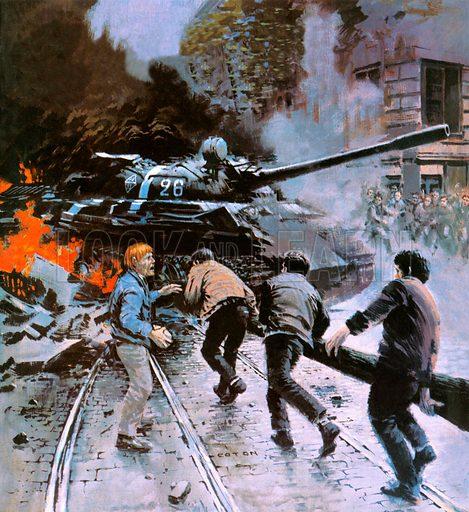 Hungarian Uprising of 1956.