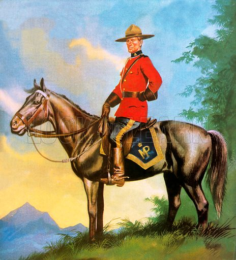 Canadian Mounty.