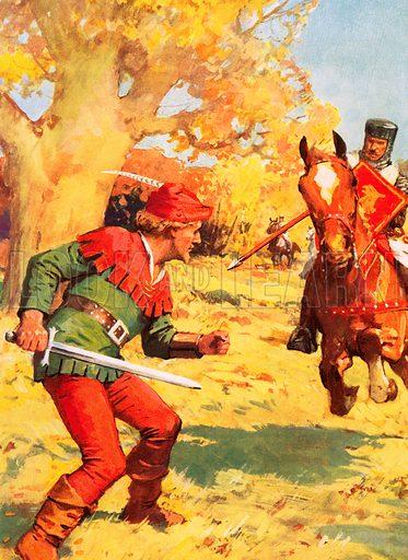 Robin Hood under attack.