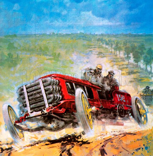 Paris to Madrid motor race of 1903