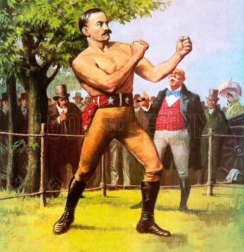 John L Sullivan, picture, image, illustration
