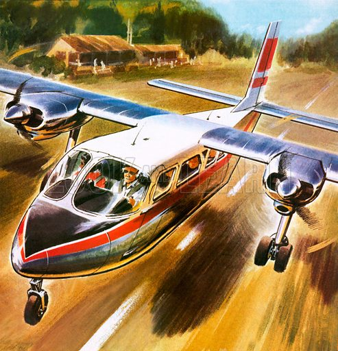Take-off for success: The Britten-Norman Islander  - Look and Learn
