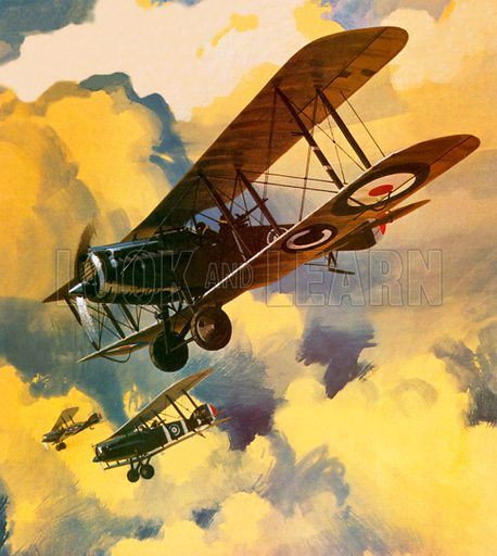 Men of the Royal Flying Corps out to combat the threat of the German floating flotilla