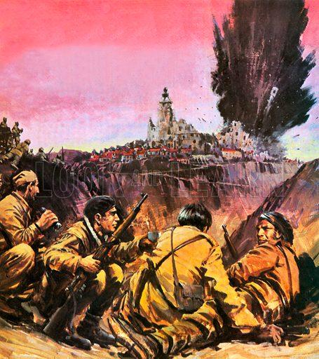 Spanish Civil War, Spain, 1936–1939
