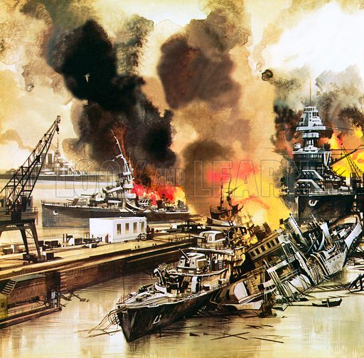 Pearl Harbour, picture, image, illustration