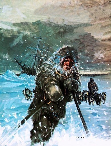 Nansen, picture, image, illustration